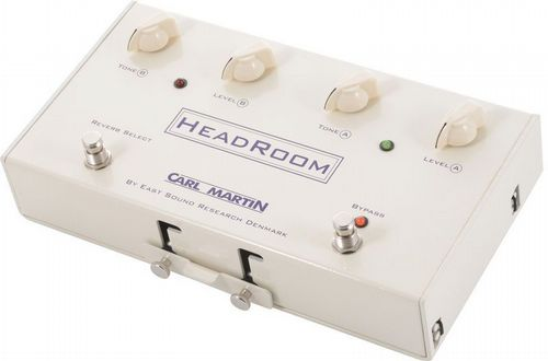 Carl Martin Headroom, Real Spring Reverb